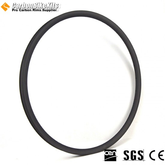 29er Carbon 30.5x19.5mm inner Width 23.5mm Tubeless Hookless Asymetric MTB Rim