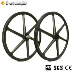 27.5er / 29er 6 Spokes Carbon MTB Wheel