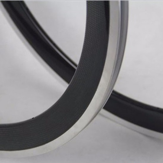 700C 38x25mm Clincher Alloy Brake Surface Carbon Road Bike Rim