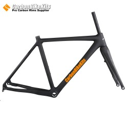 CFM857 Full Carbon Disc Brake Cyclocross Frame 35C